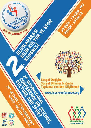 2nd International Conference on Science Culture and Sport Conference Afi�i